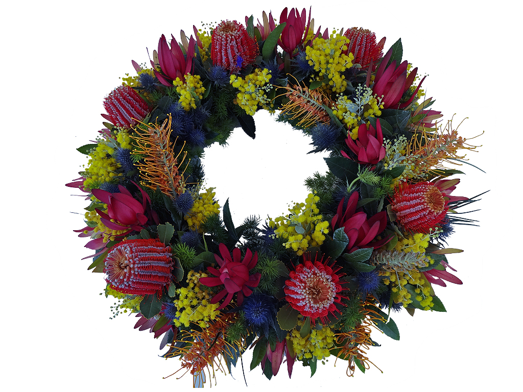 Funeral Directors Brisbane Native Wreath Traditional Funerals