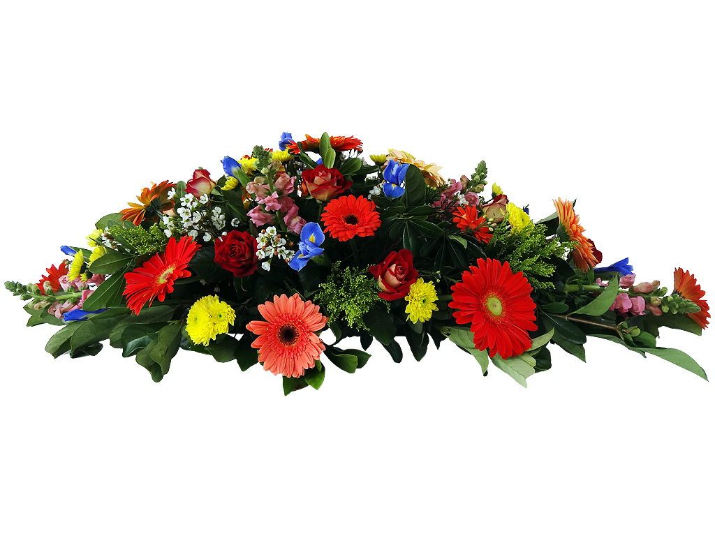 Funeral Directors Brisbane Mixed Seasonal With Roses Traditional